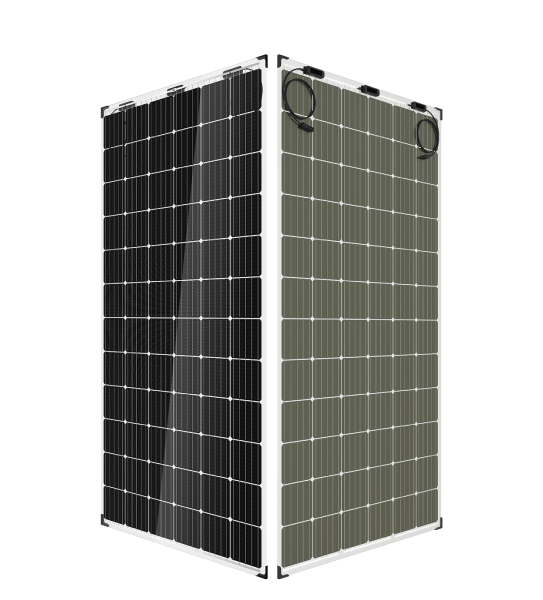 trina duo max twin panneaux solaires